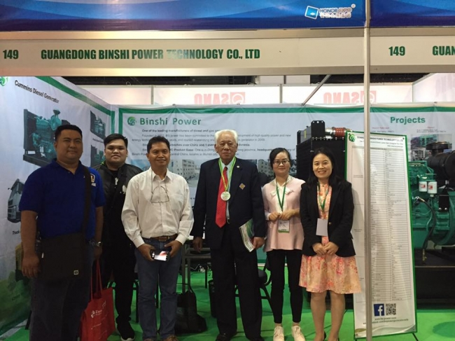Binshi Power Attended the IIEE 3E XPO Exposition